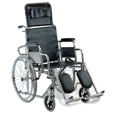 Recliner wheel chair