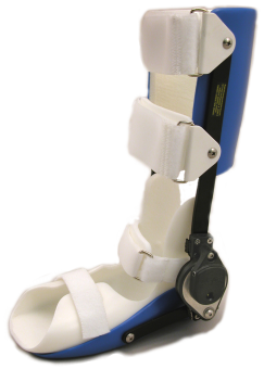 Dynamic ankle orthosis
