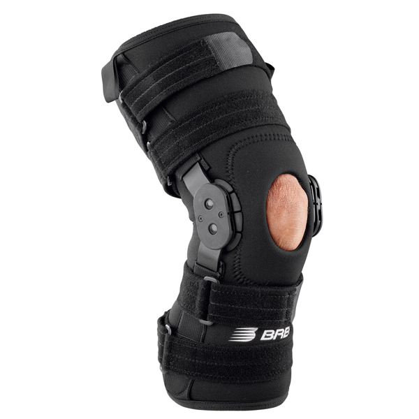 Patella stabilizer with hinged